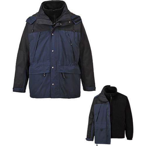 Prodyšná bunda Orkney 3v1, modrá