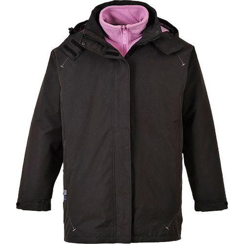 Dámská bunda 3v1 Elgin, černá