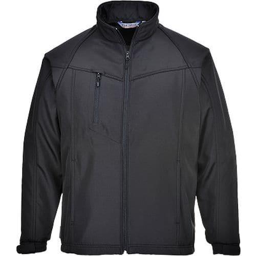 Softshelová bunda Oregon (2L), černá