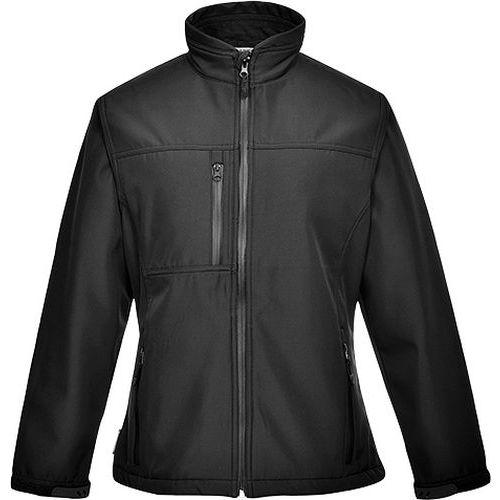 Dámská softshelová bunda Charlotte (2L), černá, vel. L
