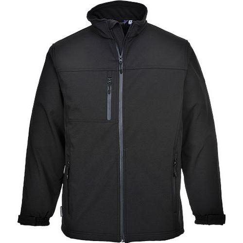 Softshelová bunda (3L), černá