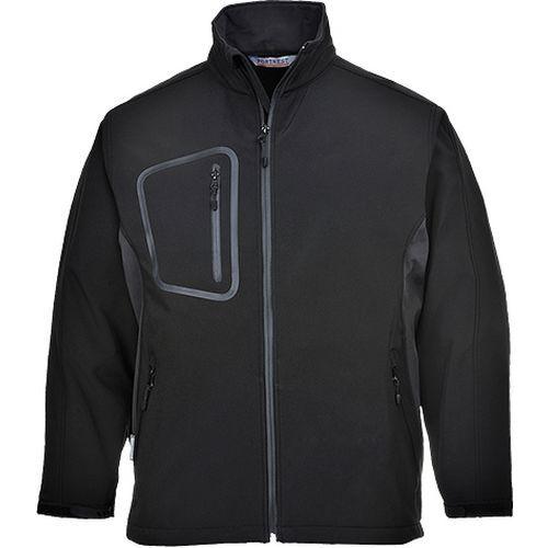 Softshelová bunda Duo (3L), černá