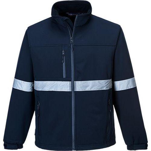 Softshelová bunda IONA (3L), modrá