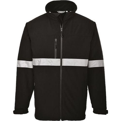 Softshelová bunda IONA (3L), černá