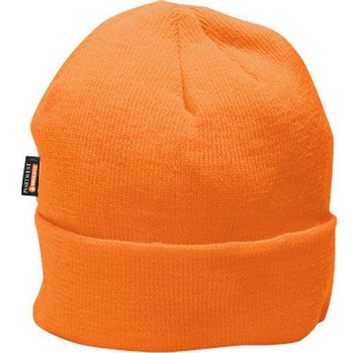 Zateplená čepice Insulatex, oranžová