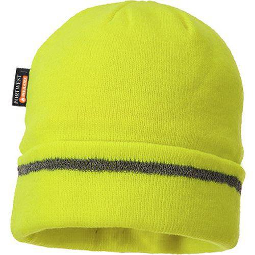 Zateplená čepice Insulatex Reflective Trim, žlutá