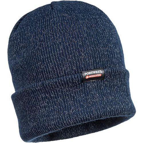 Zateplená reflexní čepice Insulatex, modrá