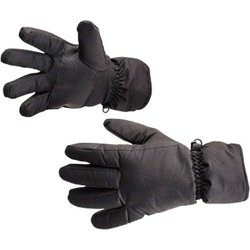 Voděodolné lyžařské rukavice, černá