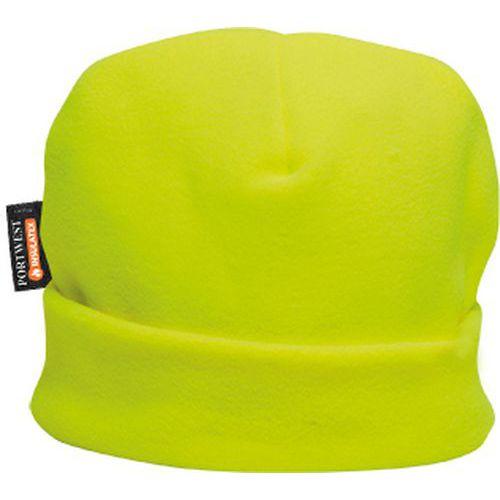 Fleecová čepice Insulatex, žlutá