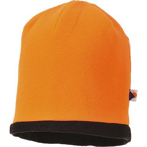 Pokrývka hlavy Reversible Hi-Vis Beanie, černá/oranžová