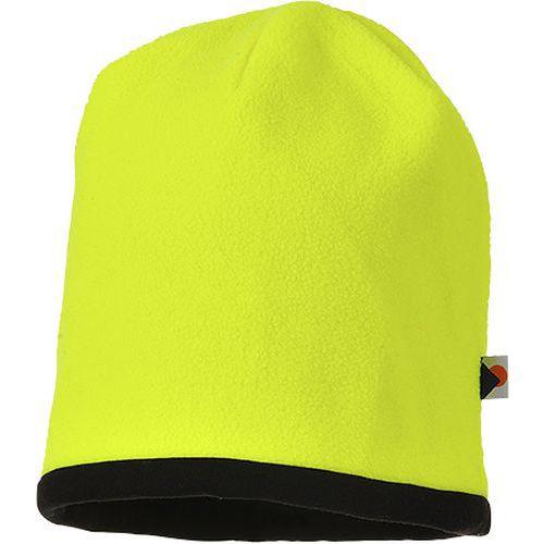 Pokrývka hlavy Reversible Hi-Vis Beanie, černá/žlutá