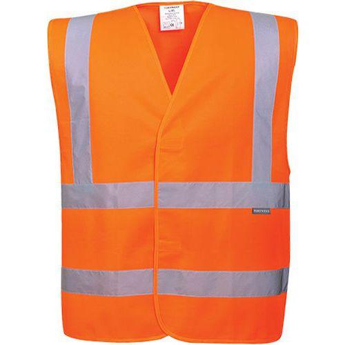 Reflexní vesta Two Band Brace Hi-Vis, oranžová