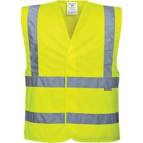 Reflexní vesta Two Band Brace Hi-Vis, žlutá