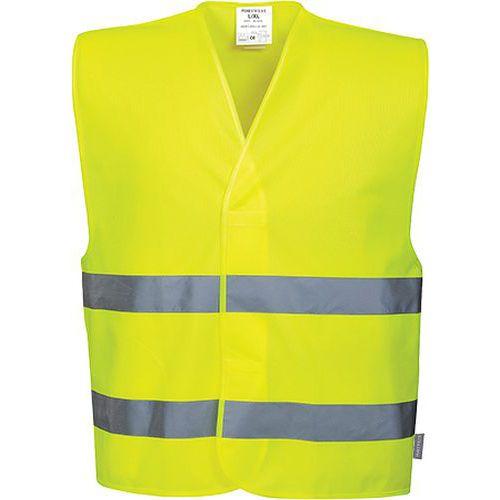 Reflexní vesta Two Band Hi-Vis, žlutá