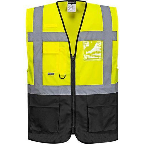 Reflexní vesta Warsaw Executive Hi-Vis, žlutá/černá