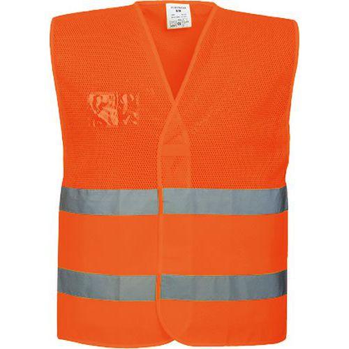 Reflexní vesta MeshAir Hi-Vis, oranžová