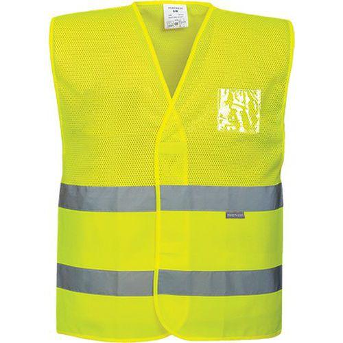 Reflexní vesta MeshAir Hi-Vis, žlutá