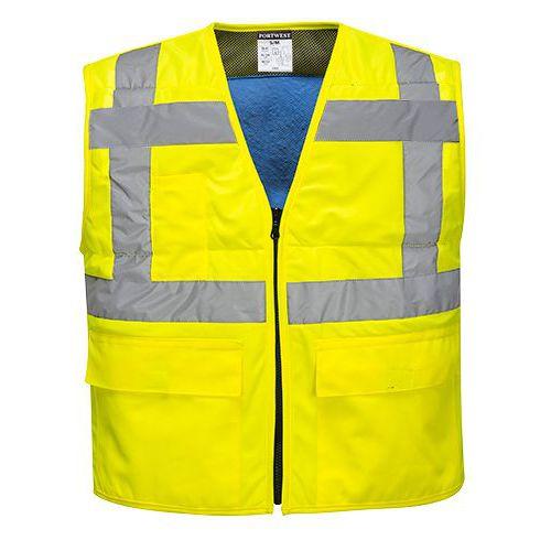 HiVis ochlazující vesta, žlutá, vel. L-XL