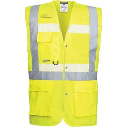 Reflexní vesta Glowtex Executive Hi-Vis, žlutá