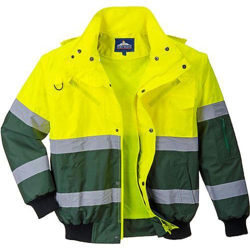Bomber X Hi-Vis, zelená/žlutá, vel. XXXL