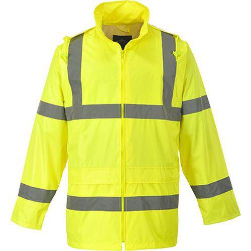 Hi-Vis bunda do deště, žlutá, vel. 4XL