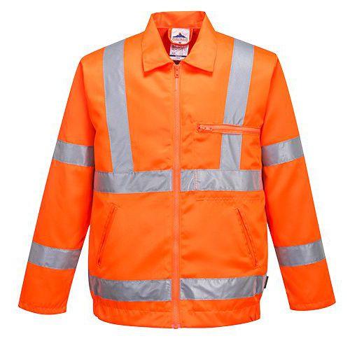 Hi-Vis blůza polyester/bavlna RIS, oranžová, vel. L