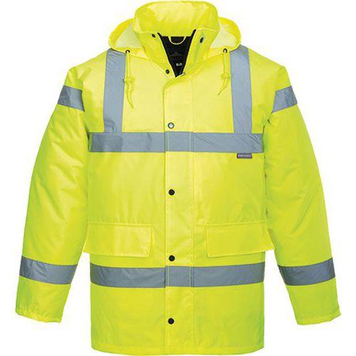Hi-Vis prodyšná bunda, žlutá, vel. XL
