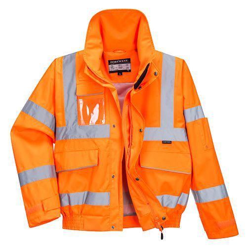 Bomber Extreme, oranžová, vel. M