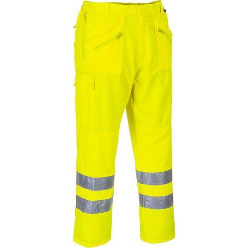 Reflexní kalhoty Candy Hi-Vis, prodloužené, žluté
