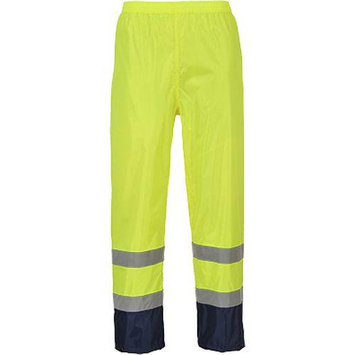 Reflexní kalhoty Cassic Contrast Hi-Vis, modré/žluté