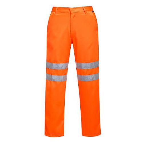 Hi-Vis kalhoty RIS, oranžová, prodloužené, vel. M