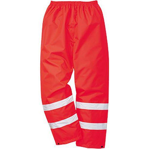 Reflexní kalhoty Traffix Hi-Vis, červené
