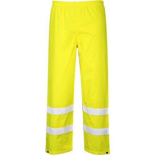 Reflexní kalhoty Traffix Hi-Vis, prodloužené, žluté