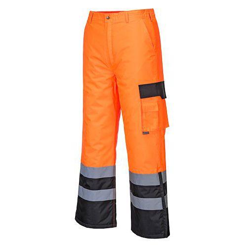 Reflexní kalhoty Contrast Hi-Vis, černé/oranžové