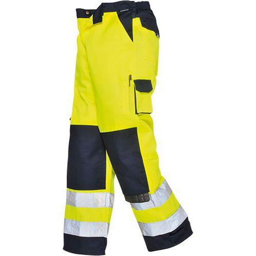 Kalhoty Lyon Hi-Vis, modrá/žlutá, normální, vel. S