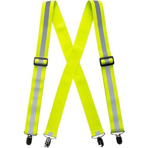 Kalhotové kšandy Hi-Vis, žluté