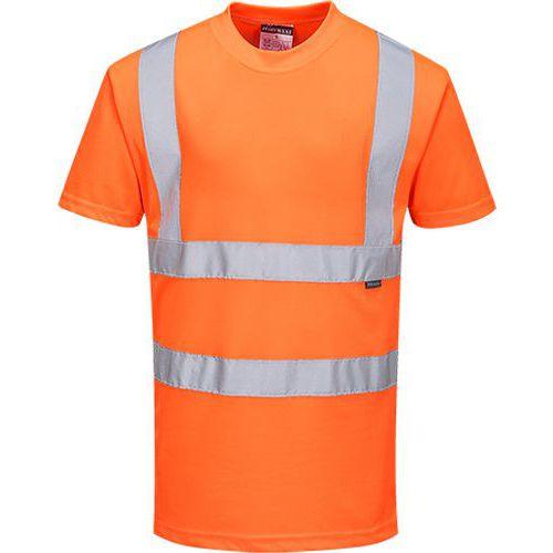 Reflexní tričko s krátkým rukávem Ris Hi-Vis, oranžové