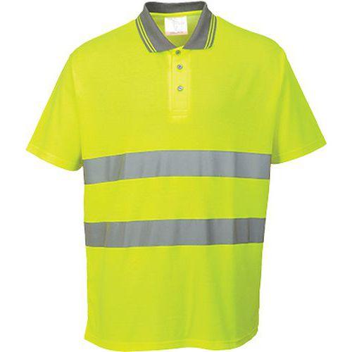 Polokošile bavlna Comfort, žlutá, vel. 4XL