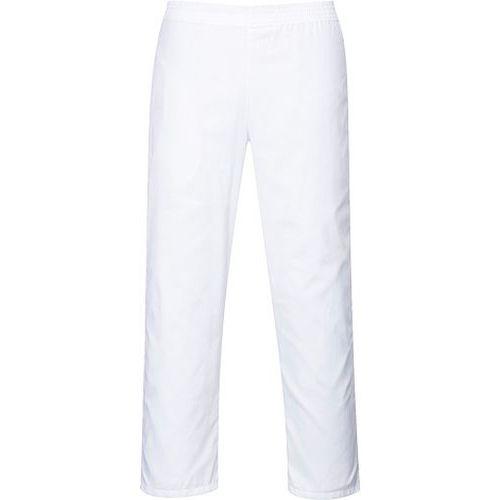Kalhoty pekařské, bílá