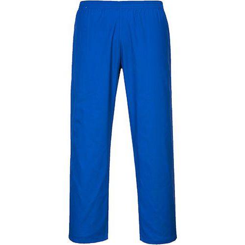Kalhoty pekařské, světle modrá