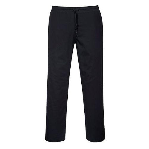 Kalhoty se stahovací šňůrkou, černá