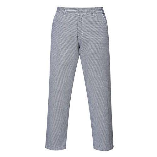 Kalhoty Harrow Chefs, bílá/šedá