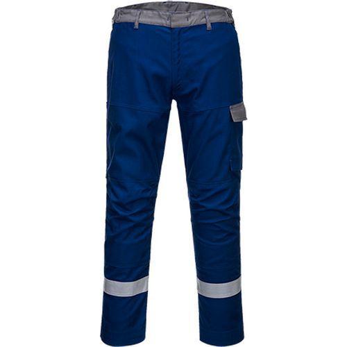 32/5000 Kalhoty Bizflame Ultra, světle modrá, zkrácené, vel. UK4