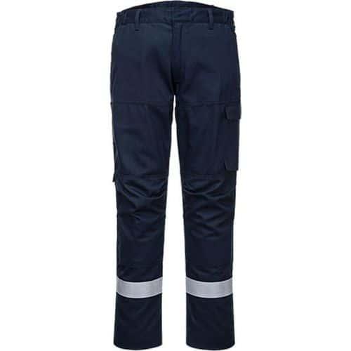 Kalhoty Bizflame Ultra, modrá, zkrácené, vel. 38