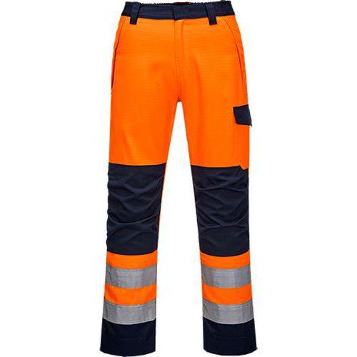 Kalhoty Modaflame RIS Oranžová/Navy, modrá/oranžová, vel. XL