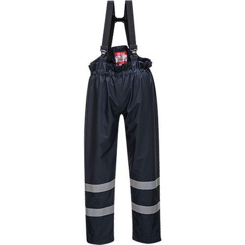 Nezateplené kalhoty Bizflame Rain FR Multi Protection, modrá, ve