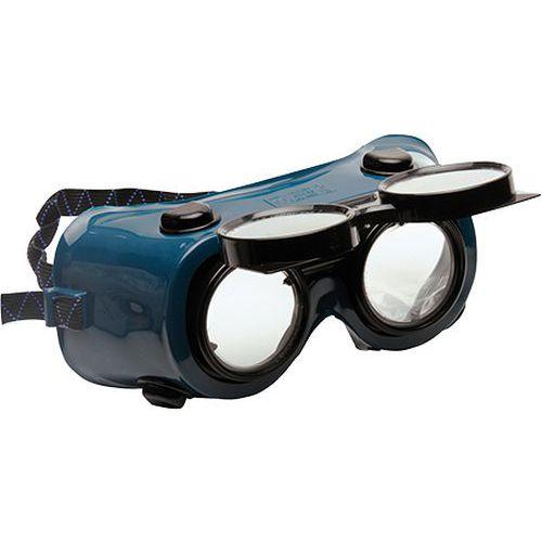 Brýle pro svářeče, zelená