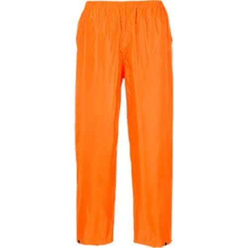 Kalhoty do deště Classic, oranžová