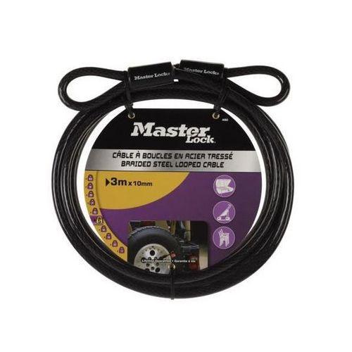 MasterLock 49EURD Ohebné ocelové lanko