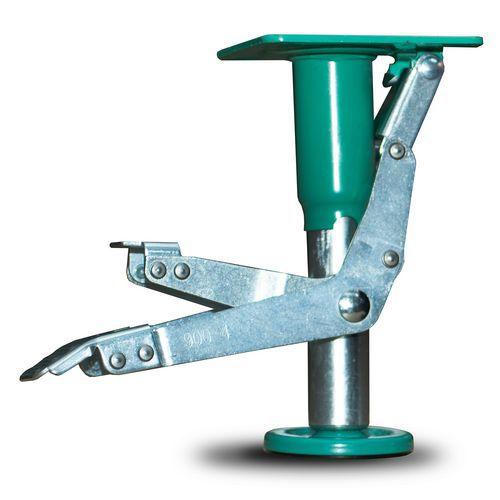Nožní ocelová brzda na transportní kola, průměr 100 mm